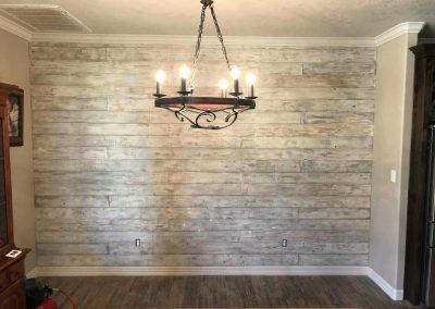 shiplap on wall