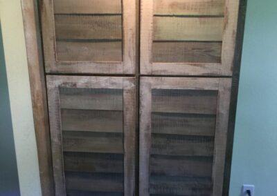 shiplap cabinet