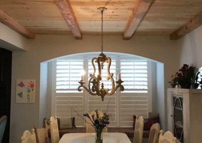 shiplap in dining room